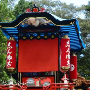 新町屋台(だんじり) 水引幕 西条祭り 石岡神社祭礼 愛媛県西条市