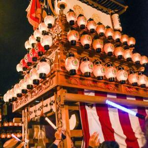大師町だんじり(屋台) お旅所2018 伊曽乃神社祭礼 西条祭り 愛媛県西条市