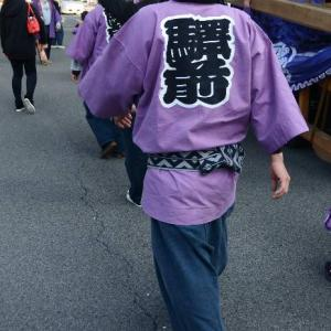 駅本屋台(だんじり) 祭り装束 伊曽乃神社祭礼 西条祭り 愛媛県西条市