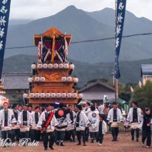 御所神社祭 八丁だんじり(屋台) 伊曽乃神社祭礼 西条祭り 愛媛県西条市