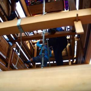 だんじり内部 松之巷だんじり(屋台) 伊曽乃神社祭礼 西条祭り 愛媛県西条市