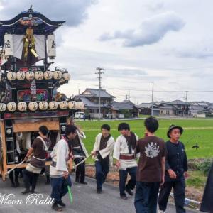 橘新宮神社祭 西田だんじり(屋台) 西条祭り 愛媛県西条市