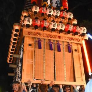 山道だんじり(屋台) 宮出し 伊曽乃神社祭礼 西条祭り2019 愛媛県西条市