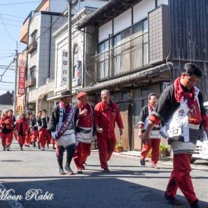 古川だんじり(屋台) 統一運行 伊曽乃神社祭礼 西条祭り2019 愛媛県西条市