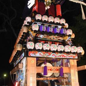 下小川だんじり(屋台) 宮出し 伊曽乃神社祭礼 西条祭り2019 愛媛県西条市