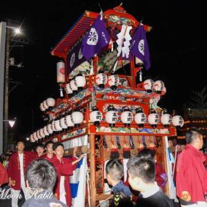 本町だんじり(屋台) 前夜祭 フジグラン西条 伊曽乃神社祭礼 西条祭り2019 愛媛県西条市