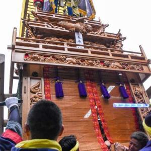 楠屋台(だんじり) 御殿前 伊曽乃神社祭礼 西条祭り2018 愛媛県西条市