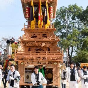 久保だんじり(屋台) 本殿祭 石岡神社祭礼 西条祭り2019 愛媛県西条市
