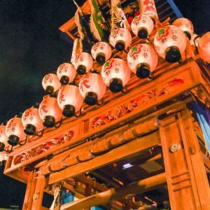 百軒巷だんじり(屋台) お旅所2018 伊曽乃神社祭礼 西条祭り 愛媛県西条市