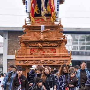 北之町下組屋台(だんじり) 御殿前 伊曽乃神社祭礼 西条祭り2018 愛媛県西条市