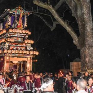 船元町だんじり(屋台) 宮出し 伊曽乃神社祭礼 西条祭り2019 愛媛県西条市
