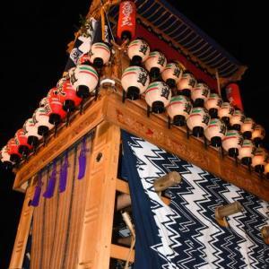 山道だんじり(屋台) 御旅所 伊曽乃神社祭礼 西条祭り2019 愛媛県西条市