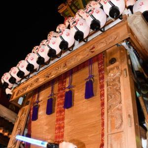 楠だんじり(屋台) 御旅所 伊曽乃神社祭礼 西条祭り2019 愛媛県西条市