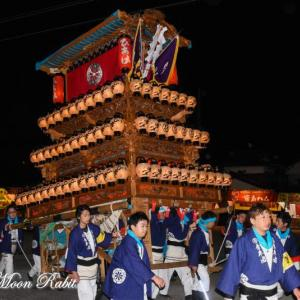 日明だんじり(屋台) 御旅所 伊曽乃神社祭礼 西条祭り2019 愛媛県西条市