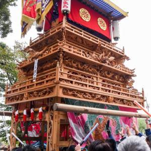朝日町屋台(だんじり) 御殿前 伊曽乃神社祭礼 西条祭り2018 愛媛県西条市