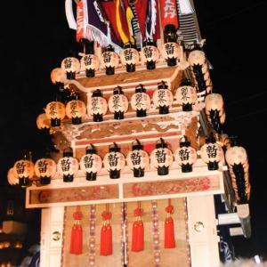 新田だんじり(屋台) 御旅所 伊曽乃神社祭礼 西条祭り2019 愛媛県西条市