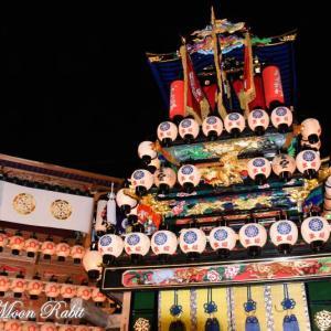 天皇だんじり(屋台) 御旅所 伊曽乃神社祭礼 西条祭り2019 愛媛県西条市
