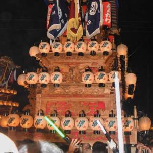 沢だんじり(屋台) 御旅所 伊曽乃神社祭礼 西条祭り2019 愛媛県西条市