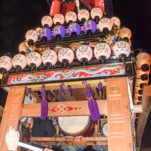 下小川だんじり(屋台) 御旅所 伊曽乃神社祭礼 西条祭り2019 愛媛県西条市