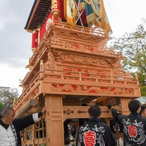喜多町だんじり(屋台) 西条小学校創立150周年事業お祭り集会 愛媛県西条市