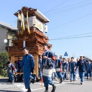 洲之内だんじり(屋台) 統一運行 伊曽乃神社祭礼 西条祭り2019 愛媛県西条市
