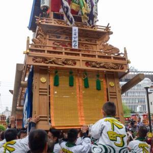 下町中組屋台(だんじり) 御殿前 伊曽乃神社祭礼 西条祭り2018 愛媛県西条市