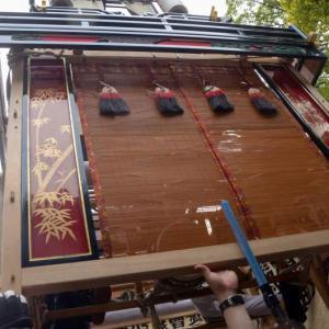 辯財天屋台(だんじり) 御殿前 伊曽乃神社祭礼 西条祭り2018 愛媛県西条市