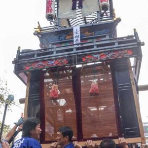紺屋町屋台(だんじり) 御殿前 伊曽乃神社祭礼 西条祭り2018 愛媛県西条市