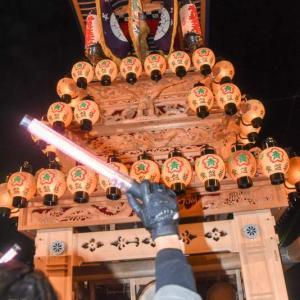 常盤巷だんじり(屋台) 御旅所 伊曽乃神社祭礼 西条祭り2019 愛媛県西条市