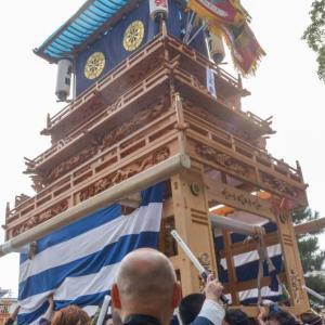 東町屋台(だんじり) 御殿前 伊曽乃神社祭礼 西条祭り2018 愛媛県西条市