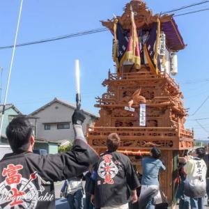 富士見町だんじり(屋台) 統一運行 伊曽乃神社祭礼 西条祭り2019 愛媛県西条市