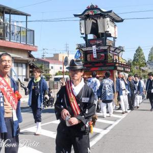 弁財天だんじり(屋台) 統一運行 伊曽乃神社祭礼 西条祭り2019 愛媛県西条市