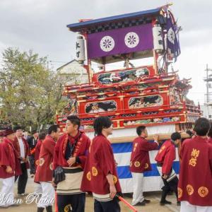 本町だんじり(屋台) 西条小学校創立150周年事業お祭り集会 愛媛県西条市
