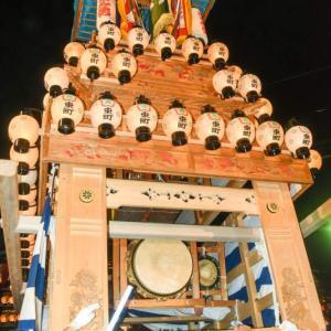 東町だんじり(屋台) 御旅所 伊曽乃神社祭礼 西条祭り2019 愛媛県西条市