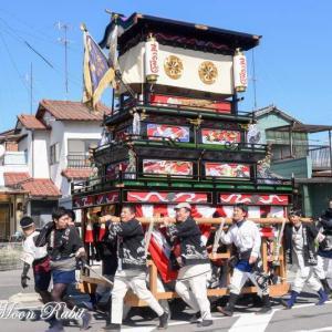 松之巷だんじり(屋台) 統一運行 伊曽乃神社祭礼 西条祭り2019 愛媛県西条市