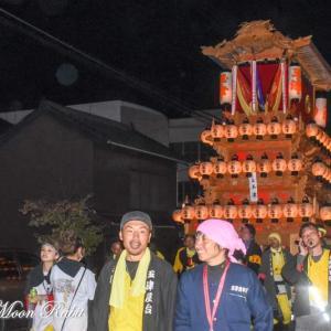 玉津だんじり(屋台) 西条駅近く 伊曽乃神社祭礼 西条祭り2019 愛媛県西条市