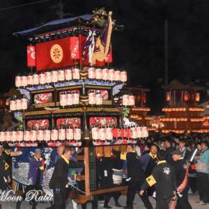 古屋敷だんじり(屋台) 御旅所 伊曽乃神社祭礼 西条祭り2019 愛媛県西条市