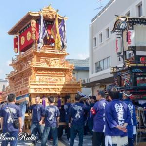 八丁だんじり(屋台) 西条駅前 伊曽乃神社祭礼 西条祭り2018 愛媛県西条市大町