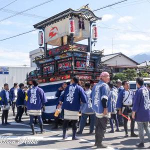 紺屋町だんじり(屋台) 統一運行 伊曽乃神社祭礼 西条祭り2019 愛媛県西条市