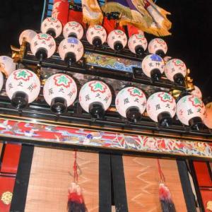 原之前だんじり(屋台) 御旅所 伊曽乃神社祭礼 西条祭り2019 愛媛県西条市