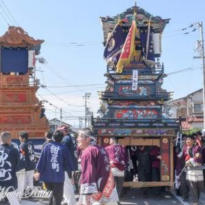 船元町だんじり(屋台) 統一運行 伊曽乃神社祭礼 西条祭り2019 愛媛県西条市