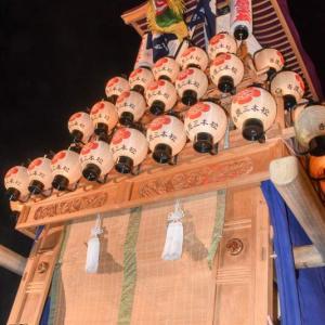 吉原三本松だんじり(屋台) 御旅所 伊曽乃神社祭礼 西条祭り2019 愛媛県西条市