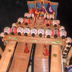 新町だんじり(屋台) 御旅所 伊曽乃神社祭礼 西条祭り2019 愛媛県西条市