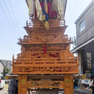 川沿町だんじり(屋台) 運行 伊曽乃神社祭礼 西条祭り2020 愛媛県西条市