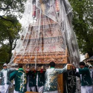 澤だんじり(屋台) 町内運行 伊曽乃神社祭礼 西条祭り2020 愛媛県西条市
