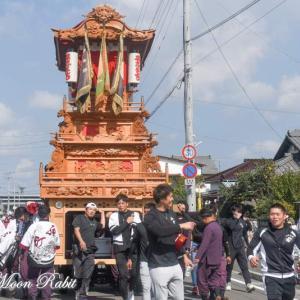 西町だんじり(屋台) 運行 伊曽乃神社祭礼 西条祭り2020 愛媛県西条市