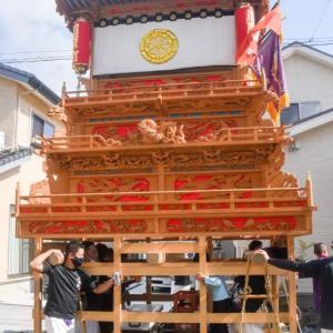 川原町だんじり(屋台) 運行 伊曽乃神社祭礼 西条祭り2020 愛媛県西条市