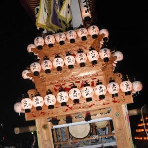 上小川だんじり(屋台) その1 楢本祭2019 西条祭り 愛媛県西条市