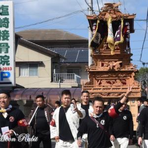 常盤巷だんじり(屋台) その2 風伯祭2019 西条祭り 愛媛県西条市