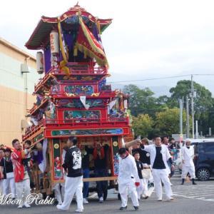 新地だんじり(屋台) 風伯祭2019 その2 西条祭り 愛媛県西条市